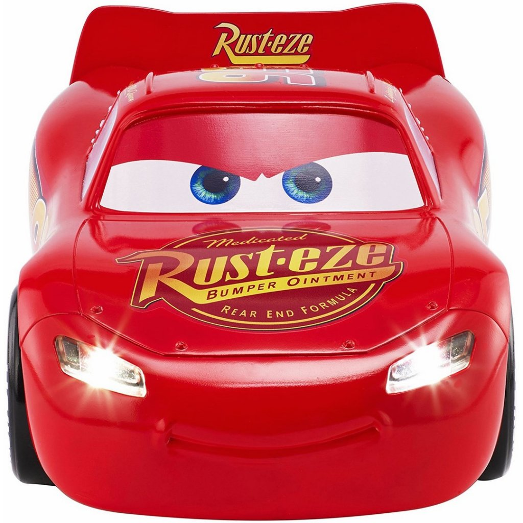 Disney Saetta McQueen Cars 3 Re-Action Macchina Interattiva Originale Mattel